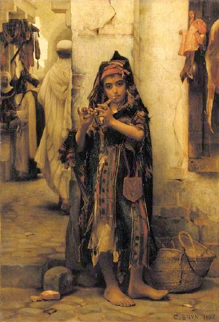 Brun Guillaume Charles - the-little-flutist
