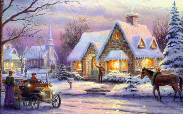 Chrismas_City_Houses_Winter_Painting_Background