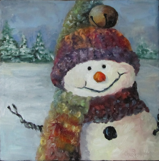 Christmas Painting 2011 - Snowman I