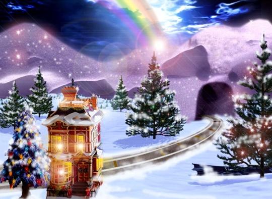 Christmas-Rainbow