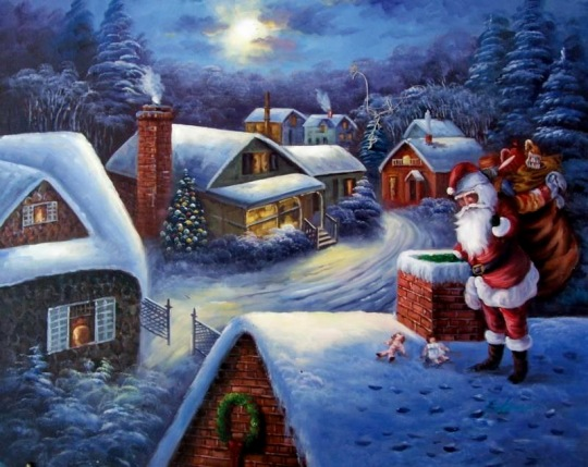 Christmas_art_oil_painting