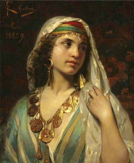 CLAUDE FERDINAND GAILLARD (1859)