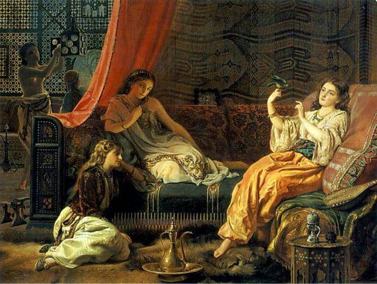 Francis John Wyburd (1826-1893) The Harem