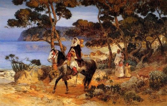 Frederick Arthur Bridgman - A Coastal Trail