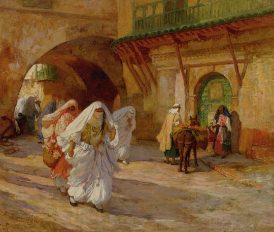 Frederick Arthur Bridgman (American, 1847-1928) - Women of Algiers