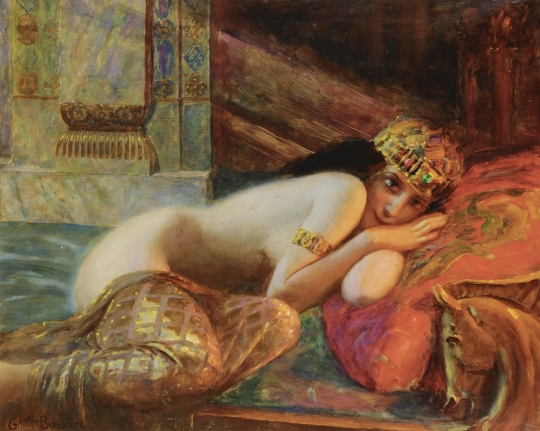 Gaston Bussiere - beauté orientale