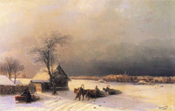 Ivan-Constantinovich-Aivazovsky-xx-Moscow-in-Winter-from-the-Sparrow-Hills-xx-Private-Collection