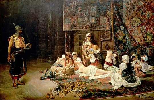 Jose Gallegos Arnosa 1884 - In The Harem