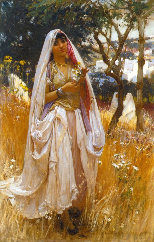 La Jeune Mauresque, Frederick Arthur Bridgman