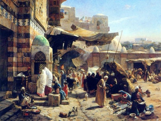 Muslim Civilization painting1