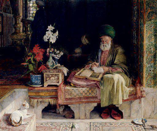 muslim-scholar-painting