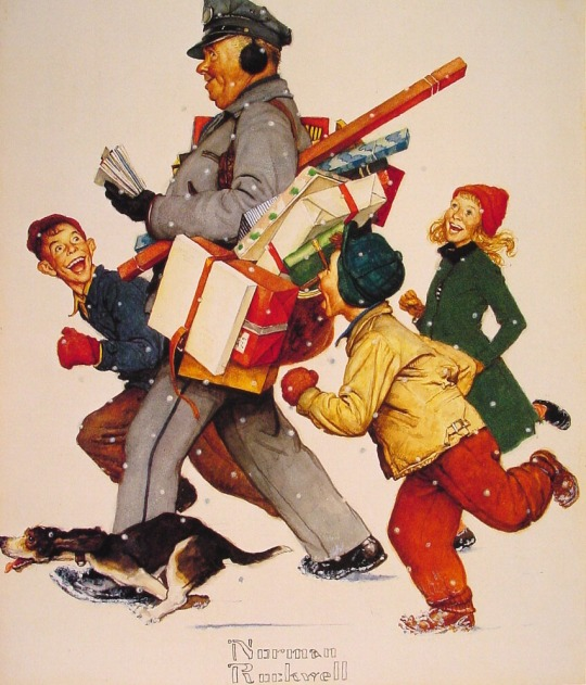 Normal-Rockwell-Christmas-Painting