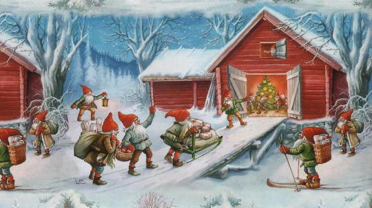 old-christmas-painting-262571