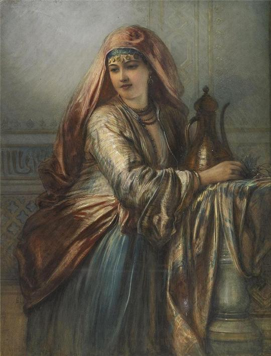 Oriental woman1