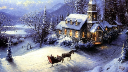 painting-snow-pin-laptop-house-winter-sledge-card-new-year-918976