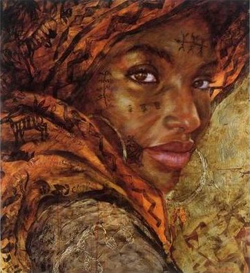 Reproduction-oil-paintings-African065