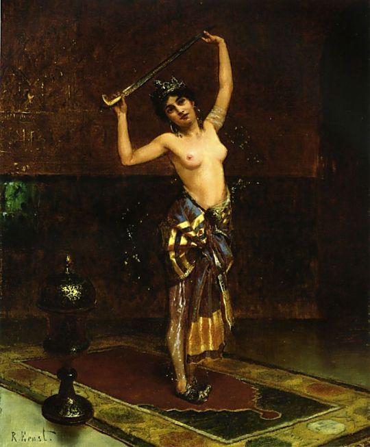 Rudolf Ernst (Austrian Painter 1854-1932)