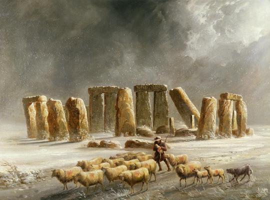 stonehenge-in-winter-walter-williams