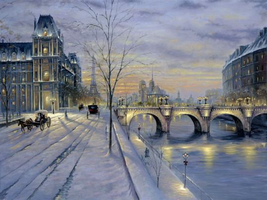 sunset-winter-paris-street-snow-painting-finale-paris