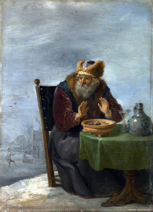 TENIERS-David-the-Younger-Winter-Painting-