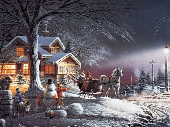 Terry_Redlin_winter_Wonderland