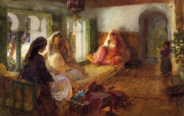 The-Harem-XX-Frederick-Arthur-Bridgeman-xx-Private-collection