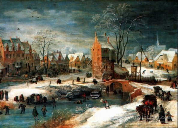 village-in-winter-painting-by-Joos-de-Momper-II-029