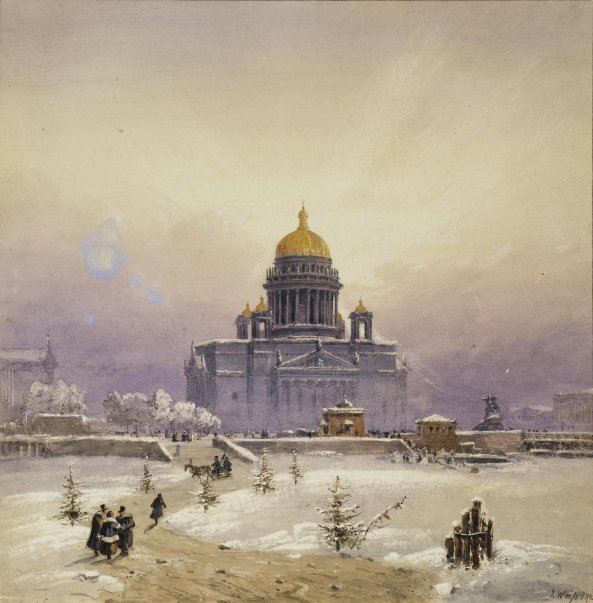 Weiss_Johann_Baptist-ZZZ-Winter_Landscape_with_the_St_Isaac_Cathedral