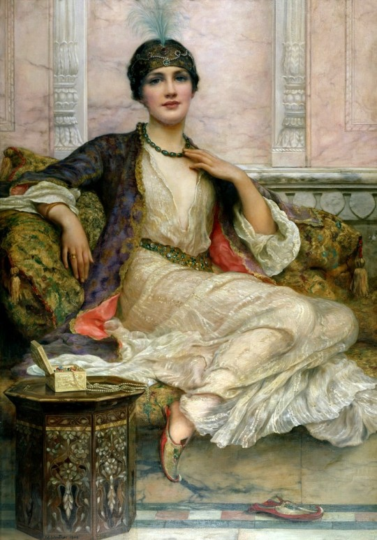 William Clark Wontner - The Jade Necklace, 1908