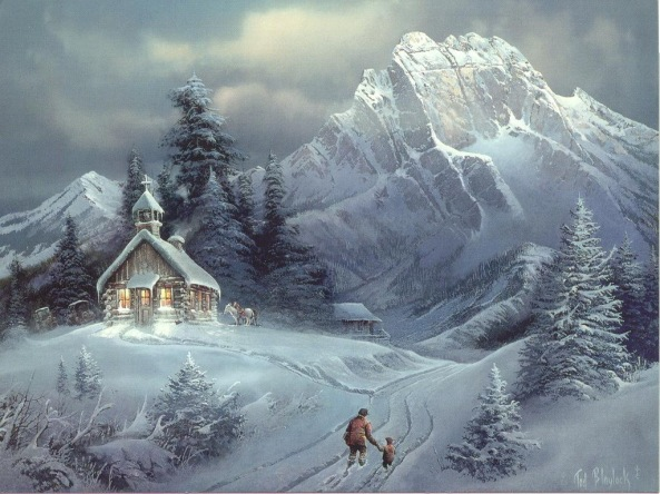 Winter-Art-Paintings-HD-Wallpaper