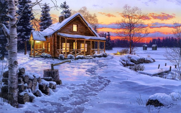 Winter-Bliss-Painting