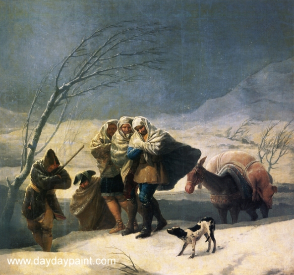 Winter-Painting-by-Goya