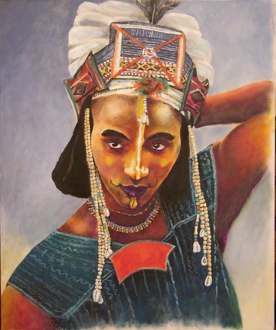 Wodaabe Man - Niger african
