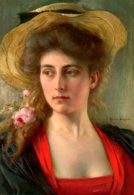 Albert Lynch (1851-1912) Elegante