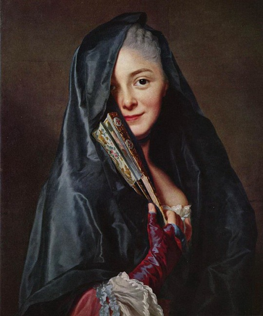Alexander Roslin - The Lady with the Veil