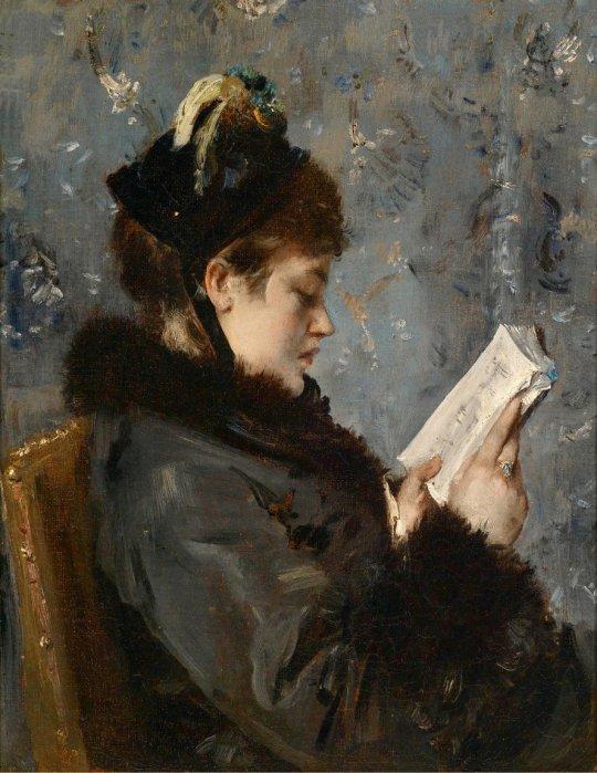 ALFRED STEVENS (1823-1906)-1