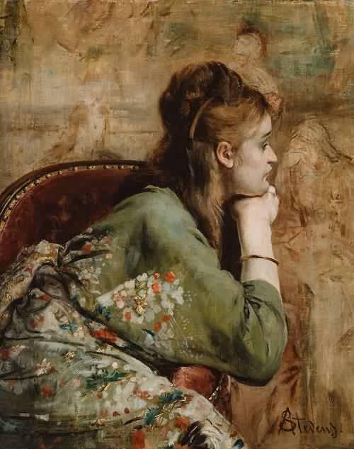 Alfred-Stevens-xx-Meditation-1872