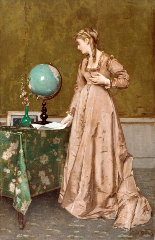 Alfred_Stevens_-_News_from_Afar_-_Walters_37183