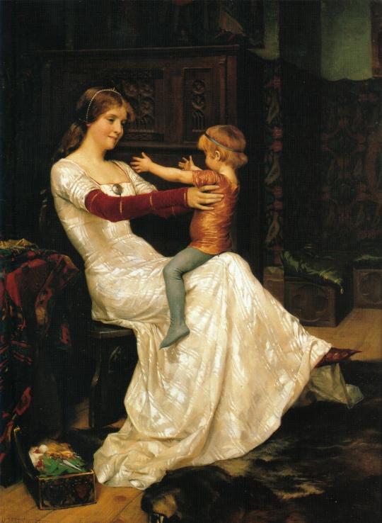 Drottning_Blanka,_målning_av_Albert_Edelfelt_från_1877