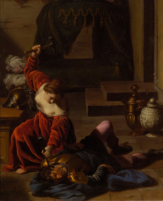 'Jael_and_Sisera'_Alessandro_Turchi,_Dayton_Art_Institute