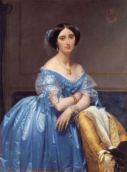 18-ingres-princess-albert-de-broglie-old-painting