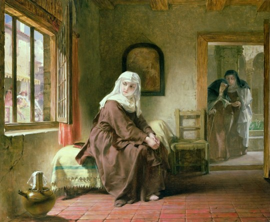 Alfred ELMORE - The Novice