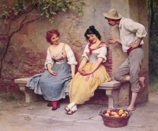 Eugenio De Blaas [1843-1931] - Austrian Academic panter - Tutt'Art@ (8)
