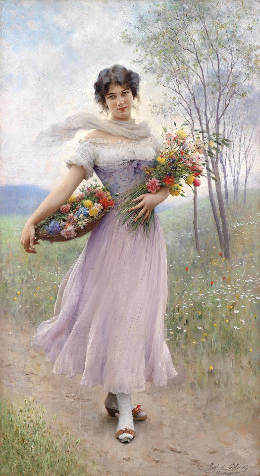 Eugenio De Blaas [1843-1931]