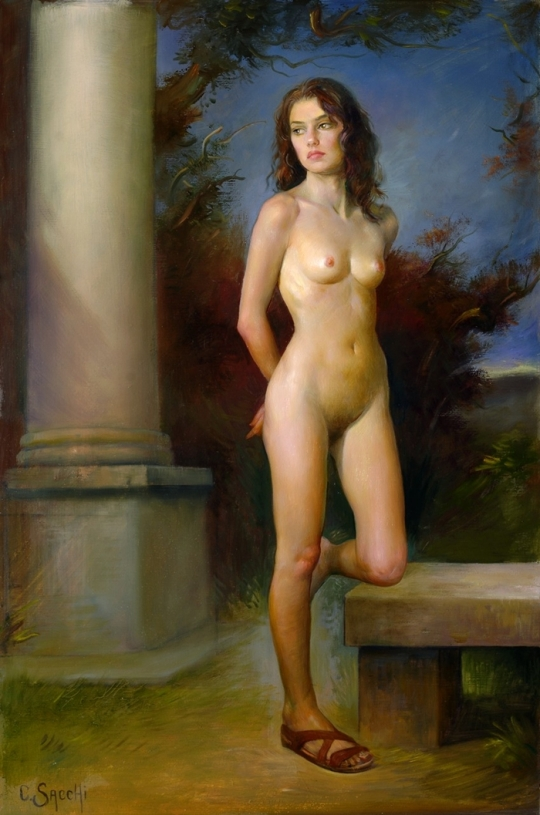 Magic Realism - Claudio Sacchi 1953 - Italian painter (11)