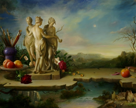 Magic Realism - Claudio Sacchi 1953 - Italian painter (15)