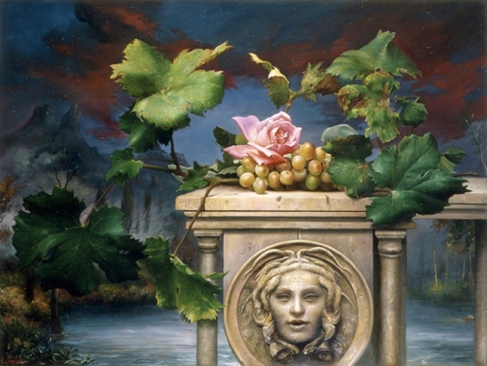 Magic Realism - Claudio Sacchi 1953 - Italian painter (16)