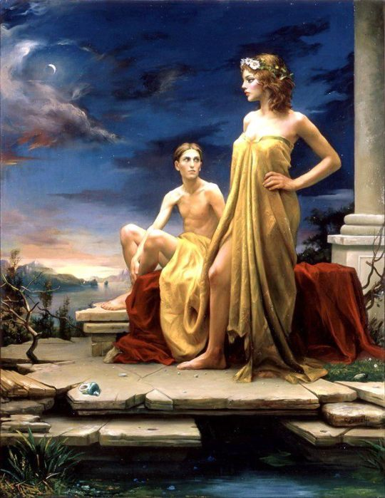 Magic Realism - Claudio Sacchi 1953 - Italian painter (23)