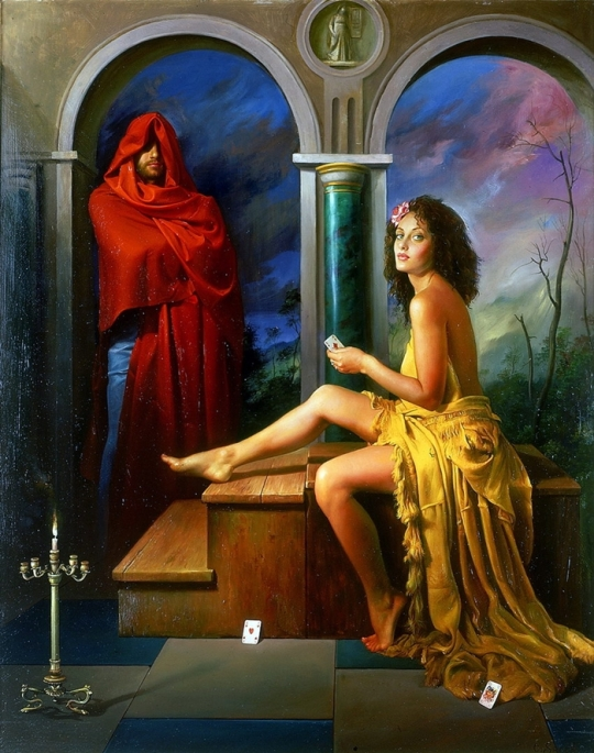 Magic Realism - Claudio Sacchi 1953 - Italian painter (45)