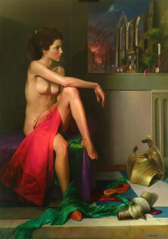 Magic Realism - Claudio Sacchi 1953 - Italian painter jpg